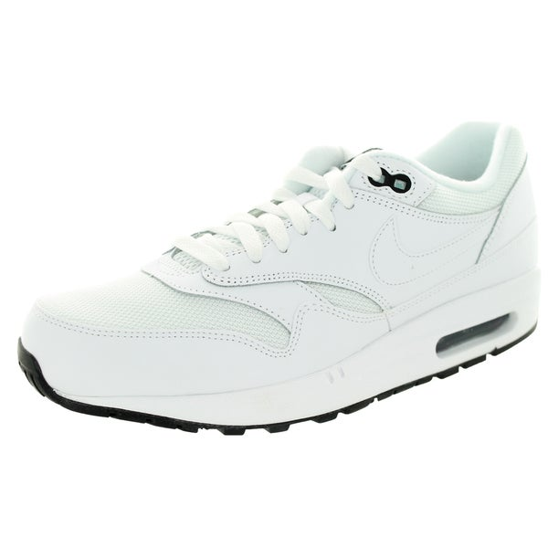 Nike Men's Air Max 1 Essential White/White/Black Running Shoe