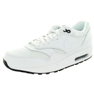 Nike Men's Air Max 1 Essential White/White/Black Running Shoe