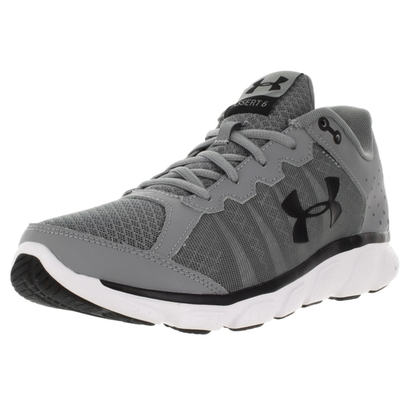 Under Armour Men's Micro G Assert 6 S/White/Black Running Shoe