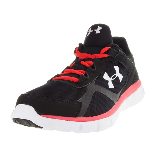 Under Armour Men's Micro G Velocity Gr Black/Rtr/Gr Running Shoe