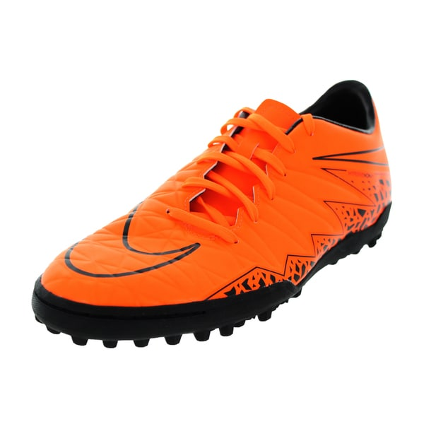 Nike Men's Hypervenom Phelon Ii Tf Total Orange/Orange/Black/Black Turf Soccer Shoe