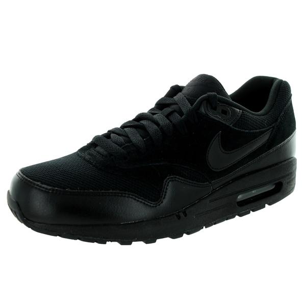 Nike Men's Air Max 1 Essential Black/Black Running Shoe