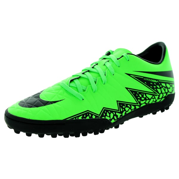 Nike Men's Hypervenom Phelon Ii Tf Green Strike/Black/Black Turf Soccer Shoe