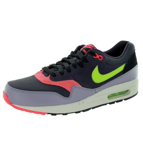 Nike Men's Air Max 1 Essential Cave Purple/Frc Green/Purple S Running Shoe