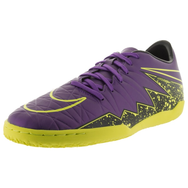 Nike Men's Hypervenom Phelon Ii Ic Hyper Grape/ Grape/Black Vlt Indoor Soccer Shoe