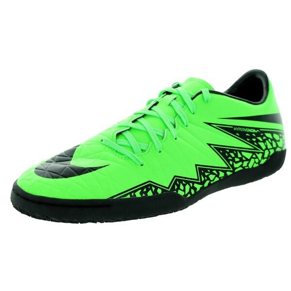 Nike Men's Hypervenom Phelon Ii Ic Green Strike/Black/Black Indoor Soccer Shoe
