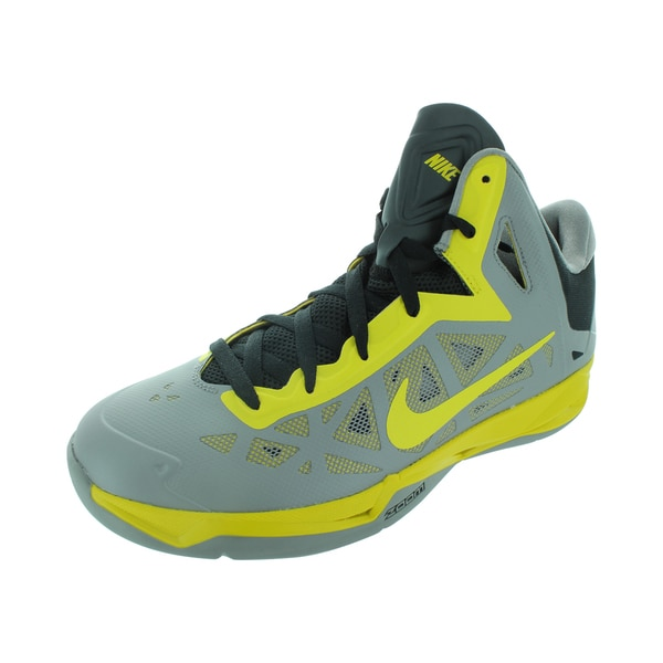 Nike Zoom Hyperchaos Basketball Shoes Sport Grey/Vivid Sulfur/Black