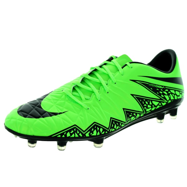 Nike Men's Hypervenom Phatal Ii Fg Green Strike/Black/Black Soccer Cleat