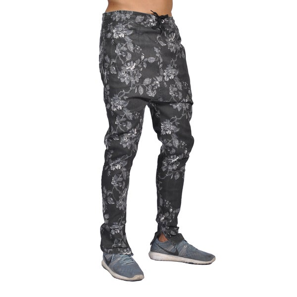 Dirty Robbers Floral Joggers