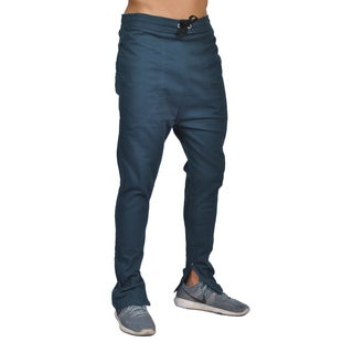 Dirty Robbers Men's Navy Cotton/Spandex Joggers