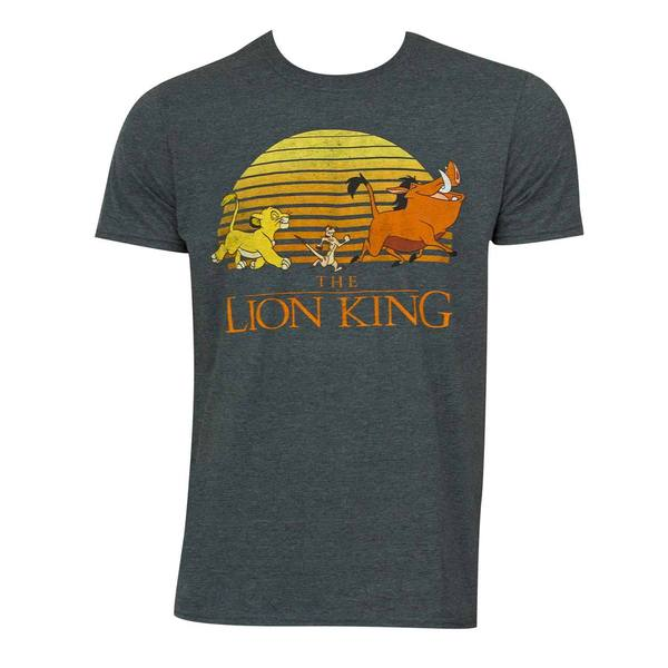 Disney's 'The Lion King' Grey Movie Logo T-Shirt