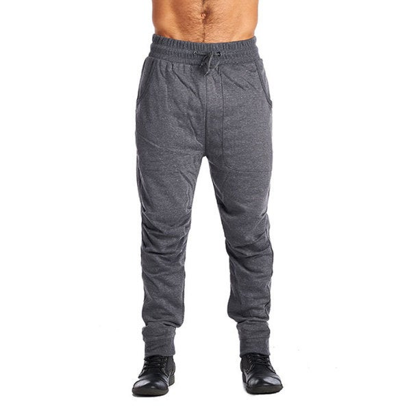Men's ARSNL Charcoal Cotton-blended Joggers