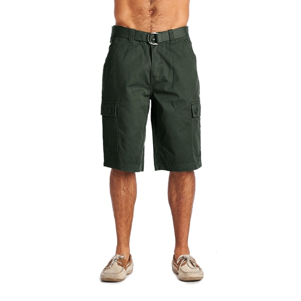 OTB Men's Wood Green Cotton Cargo Shorts