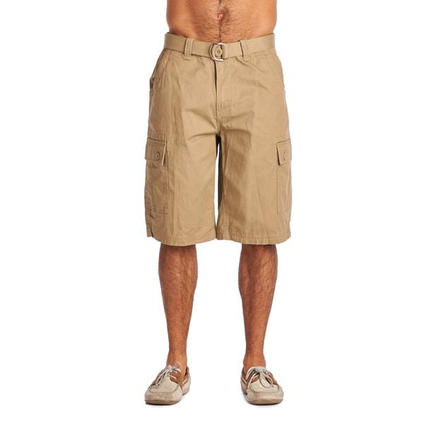 OTB Light Coffee Cotton Cargo Shorts