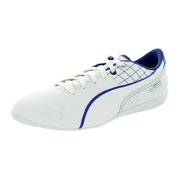 Puma Men's Mamgp Drift Cat 6 White/White/Clematis Blue Casual Shoe