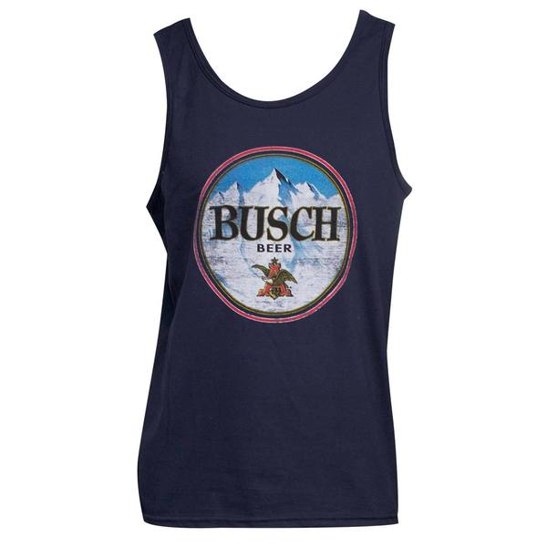 Men's Busch Blue Cotton Tank Top