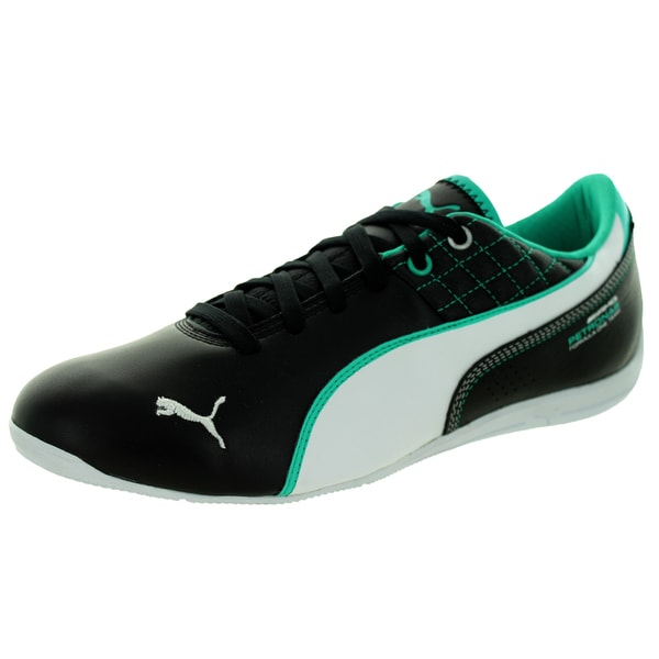 Puma Men's Mamgp Drift Cat 6 Black/White/Spectra Green Casual Shoe