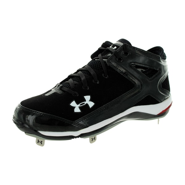Under Armour Men's Yard Ii 5/8 St Black/Black Baseball Cleat