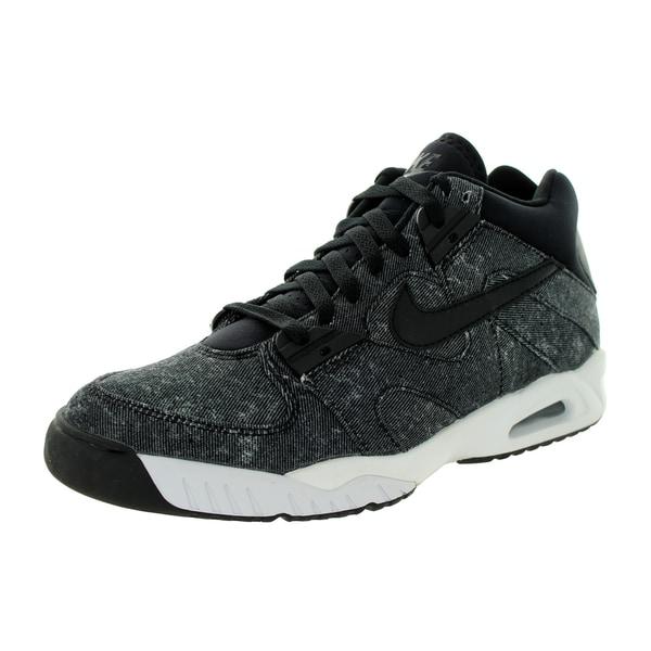 Nike Men's Air Tech Challenge Iii Black/Black/Anthracite/White Tennis Shoe