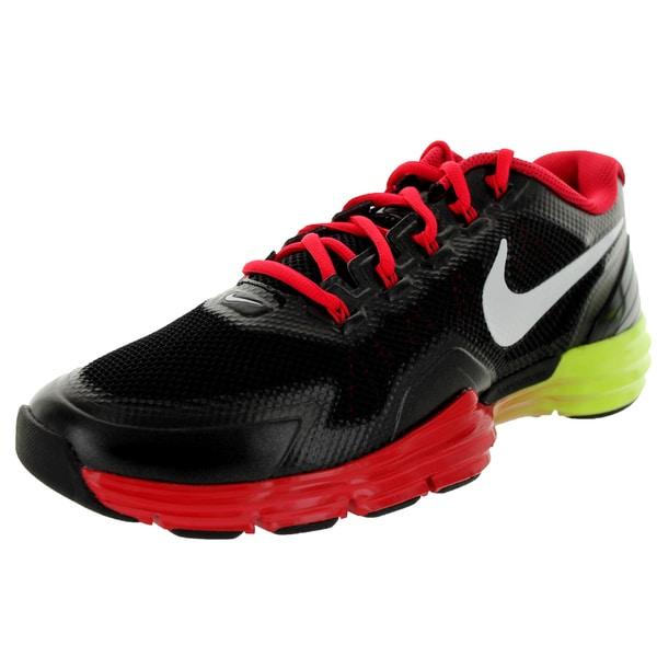 Nike Men's Lunar Tr1 Black/White/Hyper Red/Volt Training Shoe
