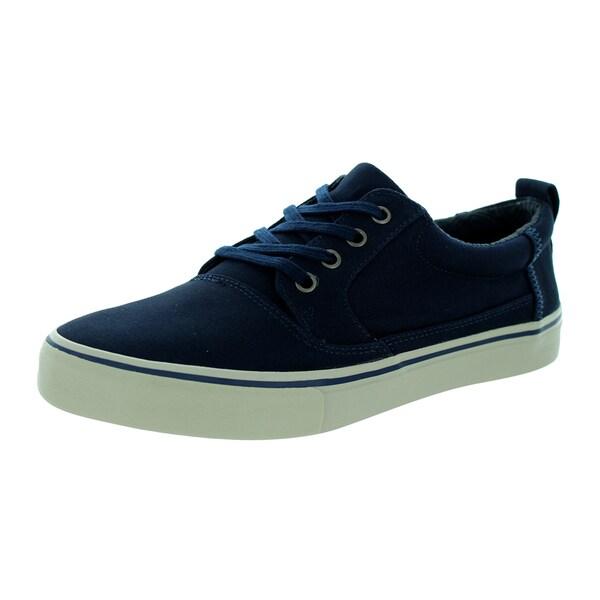 Toms Men's Valdez Navy Cotton Casual Shoe