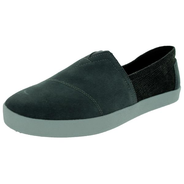 Toms Men's Avalon Sneaker Caserock Grey Casual Shoe