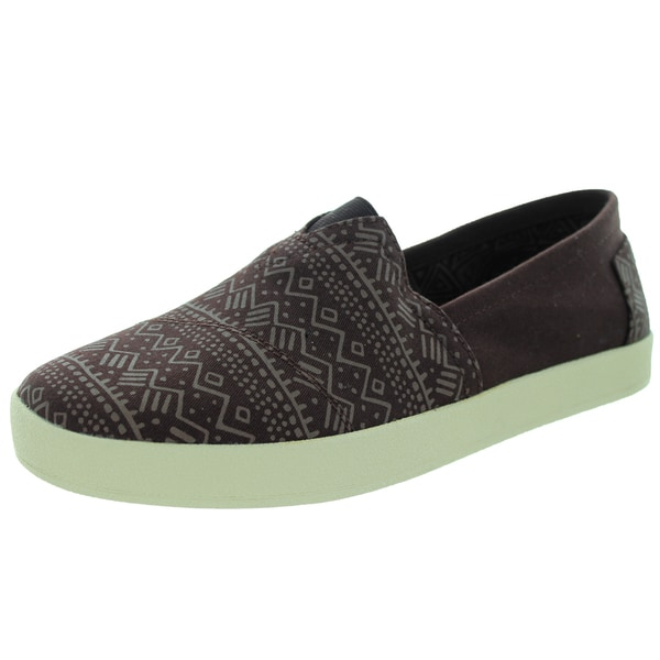 Toms Men's Avalon Sneaker Coffee Bean Brown Casual Shoe
