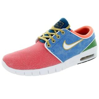 Nike Men's Stefan Janoski Max L Qs Rio/White/Photo Blue Skate Shoe