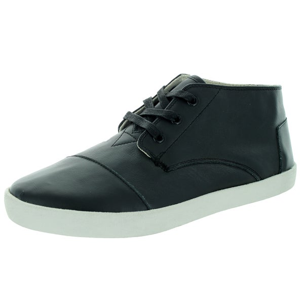 Toms Men's Paseo Mid Black Casual Shoe