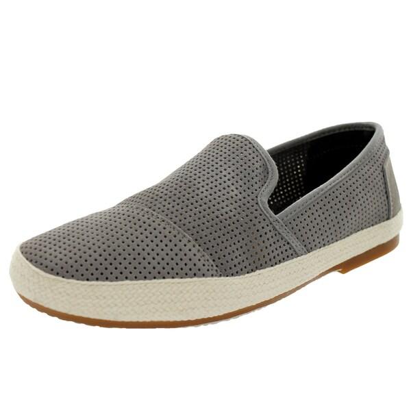 Toms Men's Sabados Light Grey/Perf Suede Casual Shoe