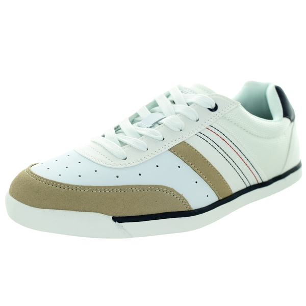 Tommy Hilfiger Men's Warsaw White Multi Casual Shoe