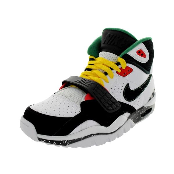 Nike Men's Air Trainer Sc Ii White/Black/Chllng Red/Pn G Training Shoe