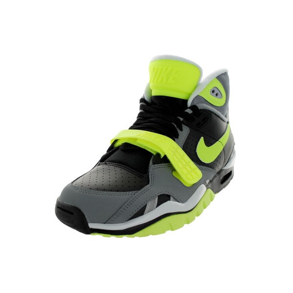 Nike Men's Air Trainer Sc Ii Black/Volt/Cool Grey/ Training Shoe