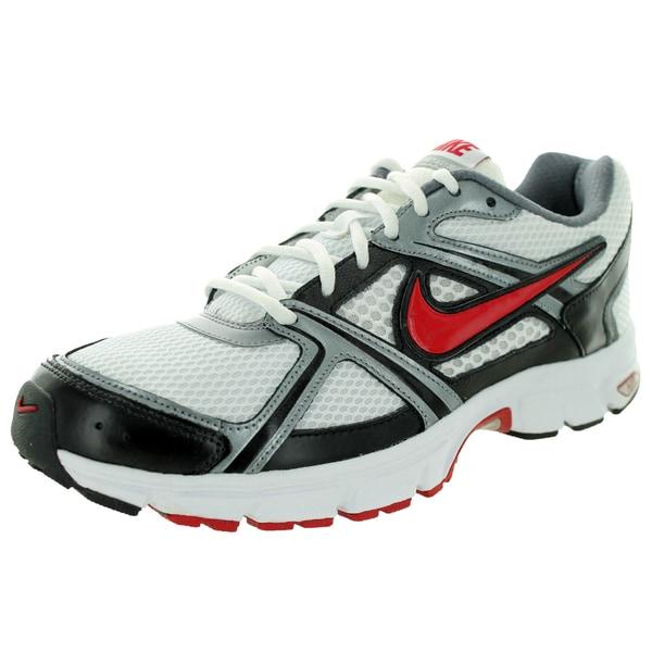 Nike Men's Air Retaliate White/Rsty Rd/ Grey/Black Running Shoe