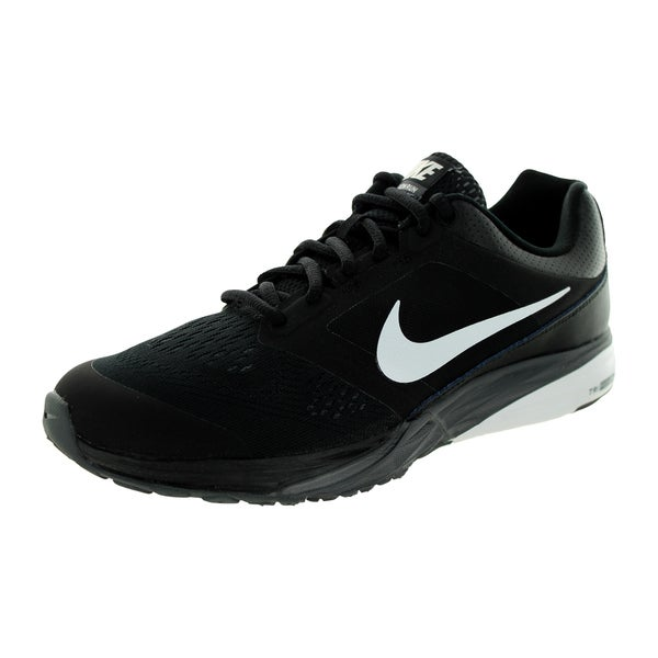Nike Men's Tri Fusion Run Black/White/Dark Grey Running Shoe