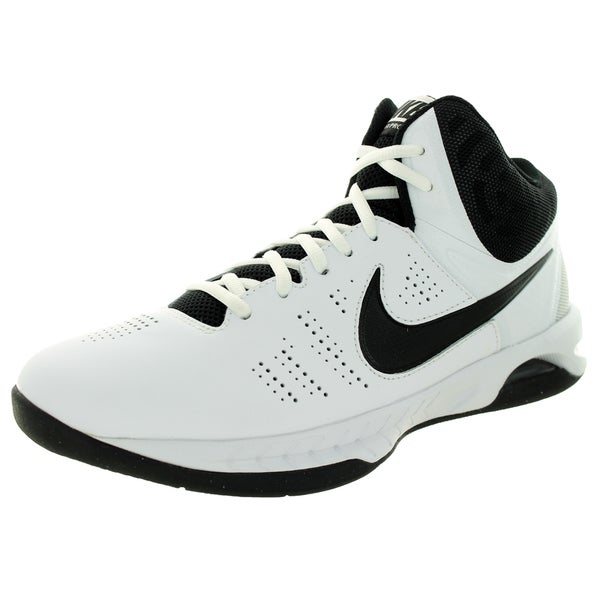 Nike Men's Air Visi Pro Vi White/Black/Cool Grey Basketball Shoe