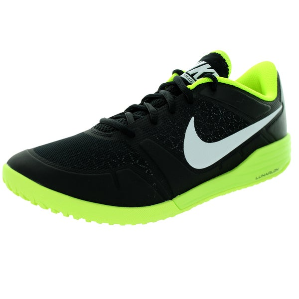 Nike Men's Lunar Ultimate Tr Black/White/Volt Training Shoe