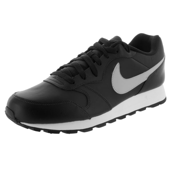 Nike Men's Md Runner 2 Leather Black/Wolf Grey Training Shoe