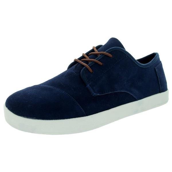 Toms Men's Paseo Navy Suede Casual Shoe