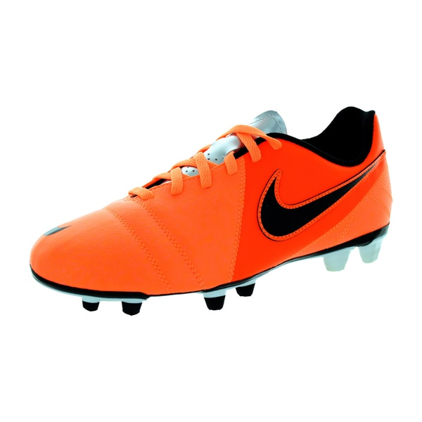 Nike Men's Ctr360 Enganche Iii Fg Atomic Orange/Black/Chrm/White Soccer Cleat