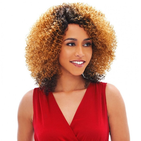 Janet Collection Agnes Human Hair Blend Brazilian Scent Lace Wig