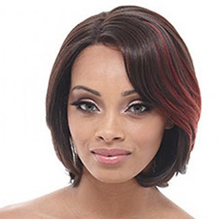 Janet Collection Harmonia Human Hair Blend Brazilian Scent Lace Wig