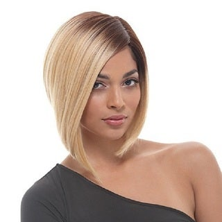 Janet Collection Helen Human Hair Blend Brazilian Scent Lace Wig