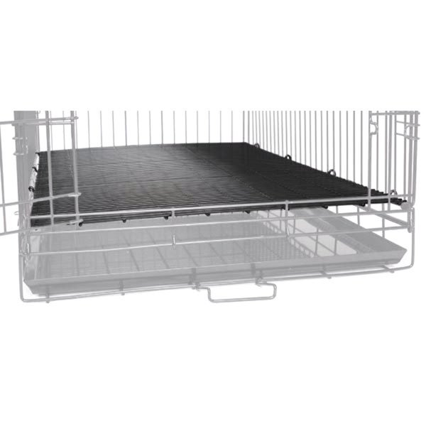 ProSelect Black Floor Dog Kennel and Crate Grate for Cages