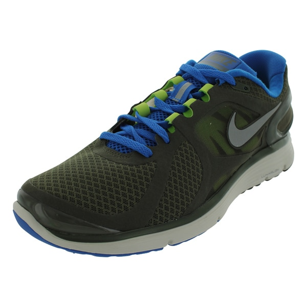 Nike Lunareclipse+ 2 Crg Khk/Metallic Silver/Sr Running Shoes