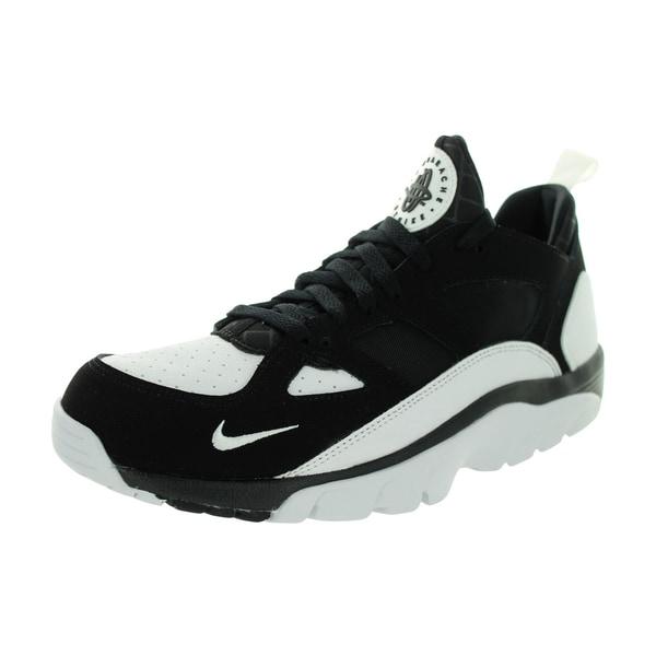 Nike Men's Air Huarache Low Black/White/Black Training Shoe