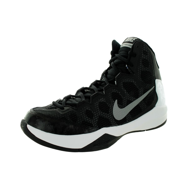 Nike Men's Zoom Without A Doubt Black/Metallic Silver/Flt Slvr/Chrm Basketball Shoe
