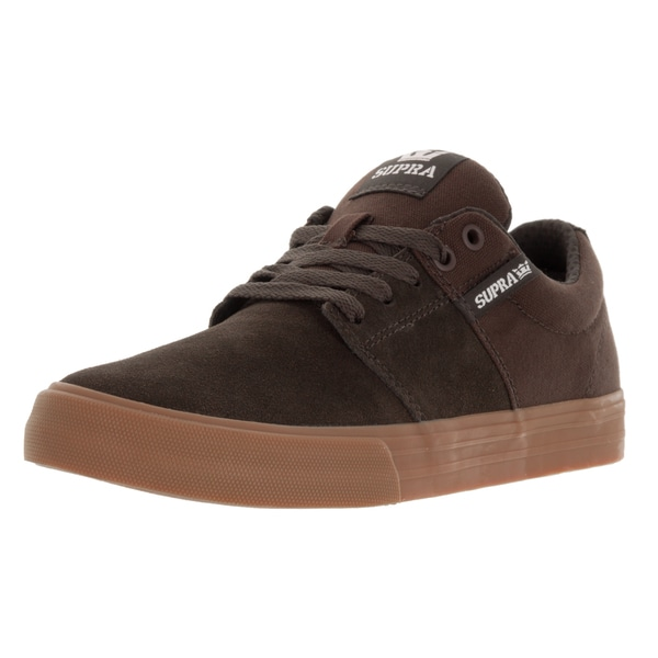 Supra Men's Stacks Vulc Ii Coffee/Gum Skate Shoe