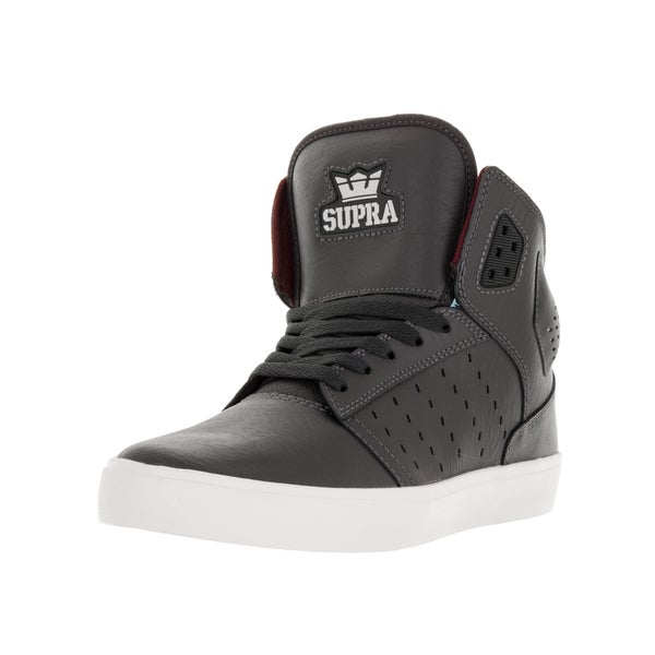 Supra Men's Atom Magnet/White Skate Shoe