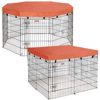 Pet Gear Small Octagon Pet Pen 13371250 Overstock Com
